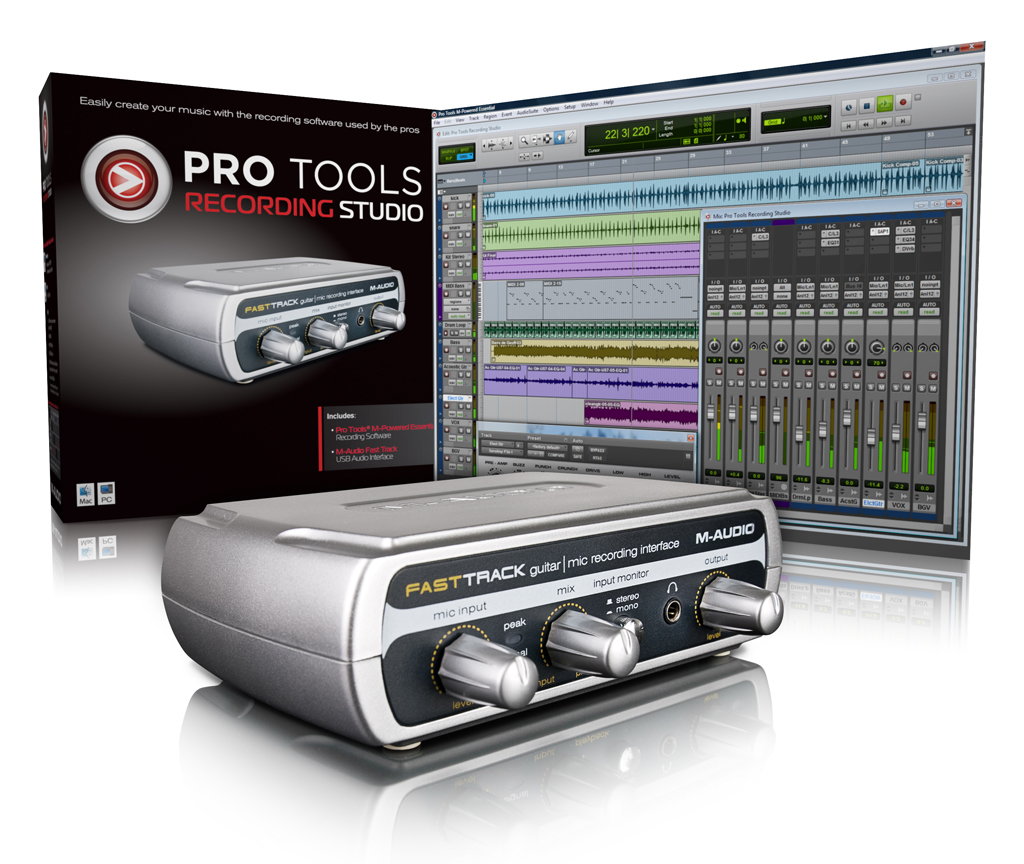M-AUDIO PRO TOOLS ESSENTIALS - RECORDING STUDIO