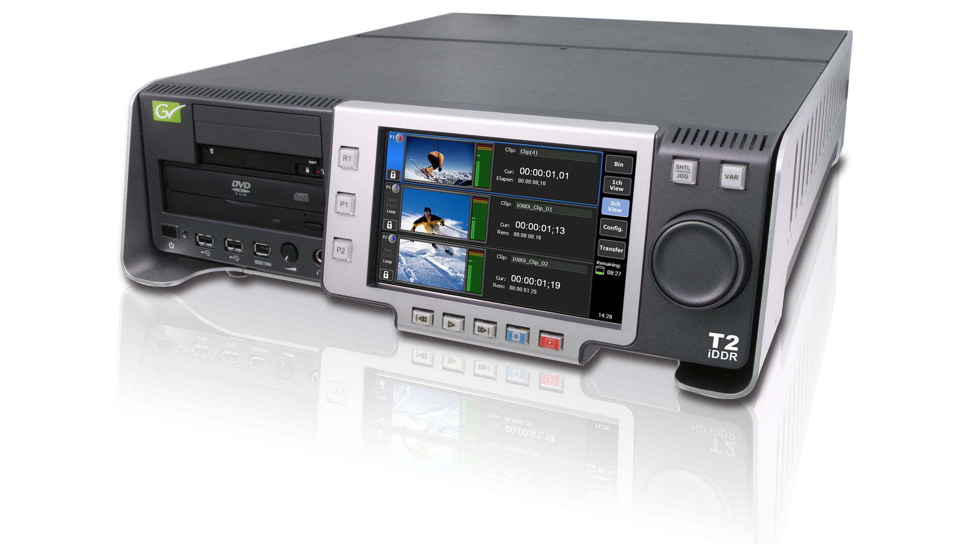 GRASS VALLEY T2 iDDR DISC RECORDER