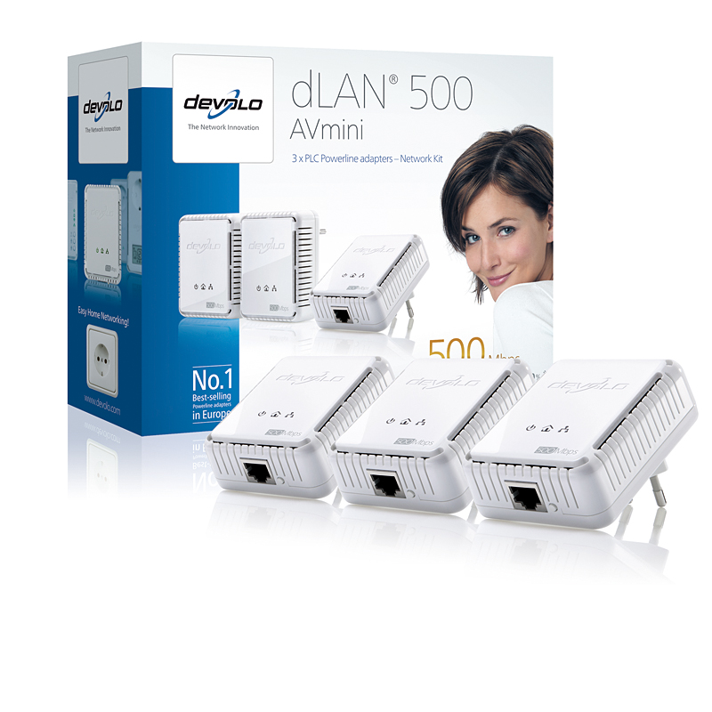 DEVOLO DLAN 500MBITS AV MINI NETWORK KIT