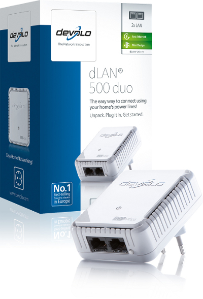 DEVOLO DLAN 500MBITS DUO SINGLE