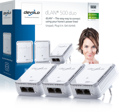 DEVOLO DLAN 500MBITS DUO NETWORK KIT