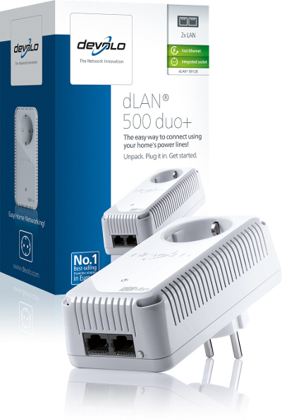 DEVOLO DLAN 500MBITS AV DUO PLUS SINGLE