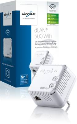 DEVOLO DLAN 500MBITS WIFI SINGLE