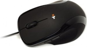 NEXUS SM-8500B SILENT WIRED MOUSE BLACK USB