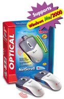 MOUSE NETSCROLL MOUSE OPTICAL PS/2 + USB