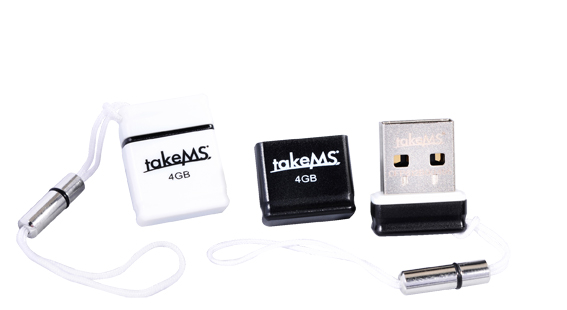 TAKEMS USB 16GB USB 2.0 EXO WHITE