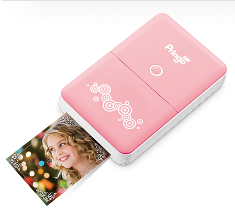 PRINGO PORTABLE PHOTO PRINTER WIFI PINK