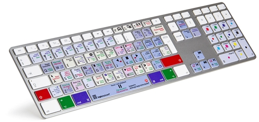 LOGICKEYBOARD DAVINCI RESOLVE V.11/12 APPLE UK