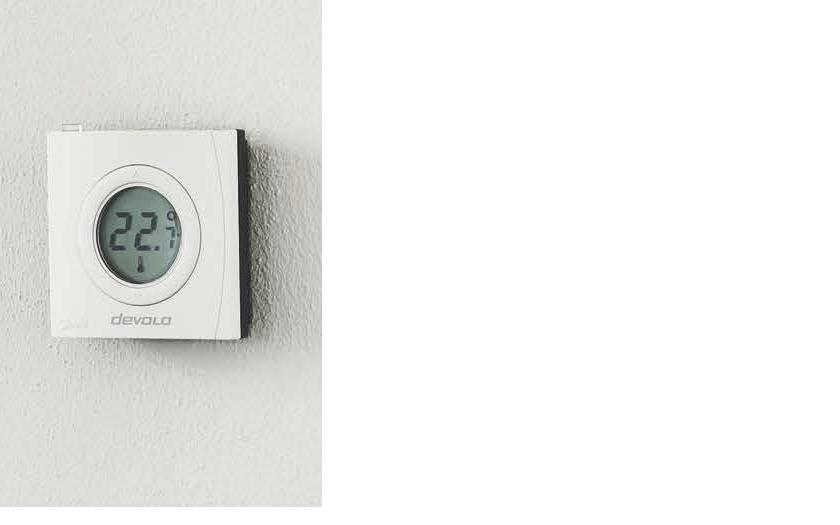 DEVOLO HOME CONTROL ROOM THERMOSTAT , Z-WAVE