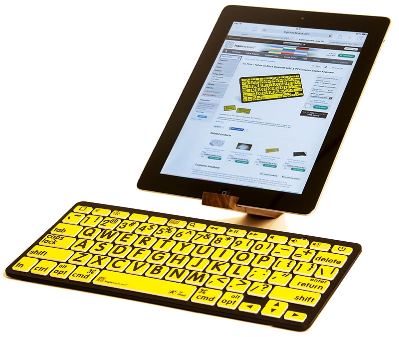 XL-PRINT -BLUETOOTH APPLE SWEDISH BLACK ON YELLOW