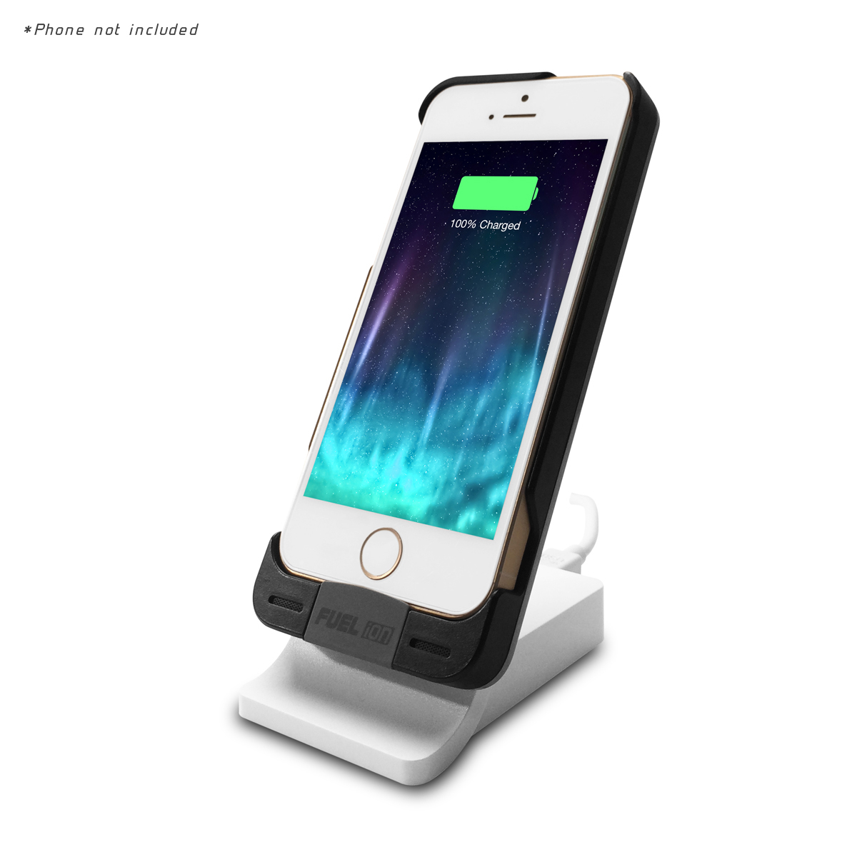 PATRIOT FUEL ION iPHONE® 5/5S CASE WITH CHARGING STAND