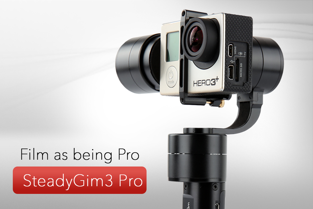 BESTABLECAM STEADYGIM3 PRO FOR GOPRO