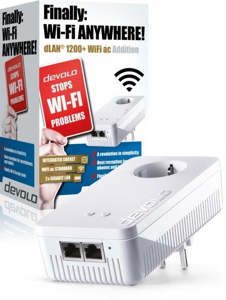 DEVOLO DLAN 1200+ WIFI AC SINGLE