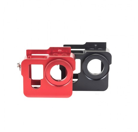 ALUMINIUM PROTECTIVE CASE  FOR GOPRO HERO4 HD CAMERA RED