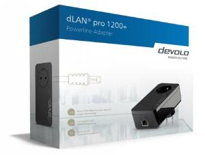 DEVOLO DLAN PRO 1200+ SINGLE POE