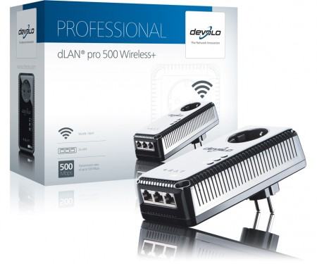 DEVOLO DLAN PRO 500 WIRELESS + SINGLE