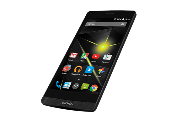 ARCHOS 50 DIAMOND SMARTPHONE BLACK