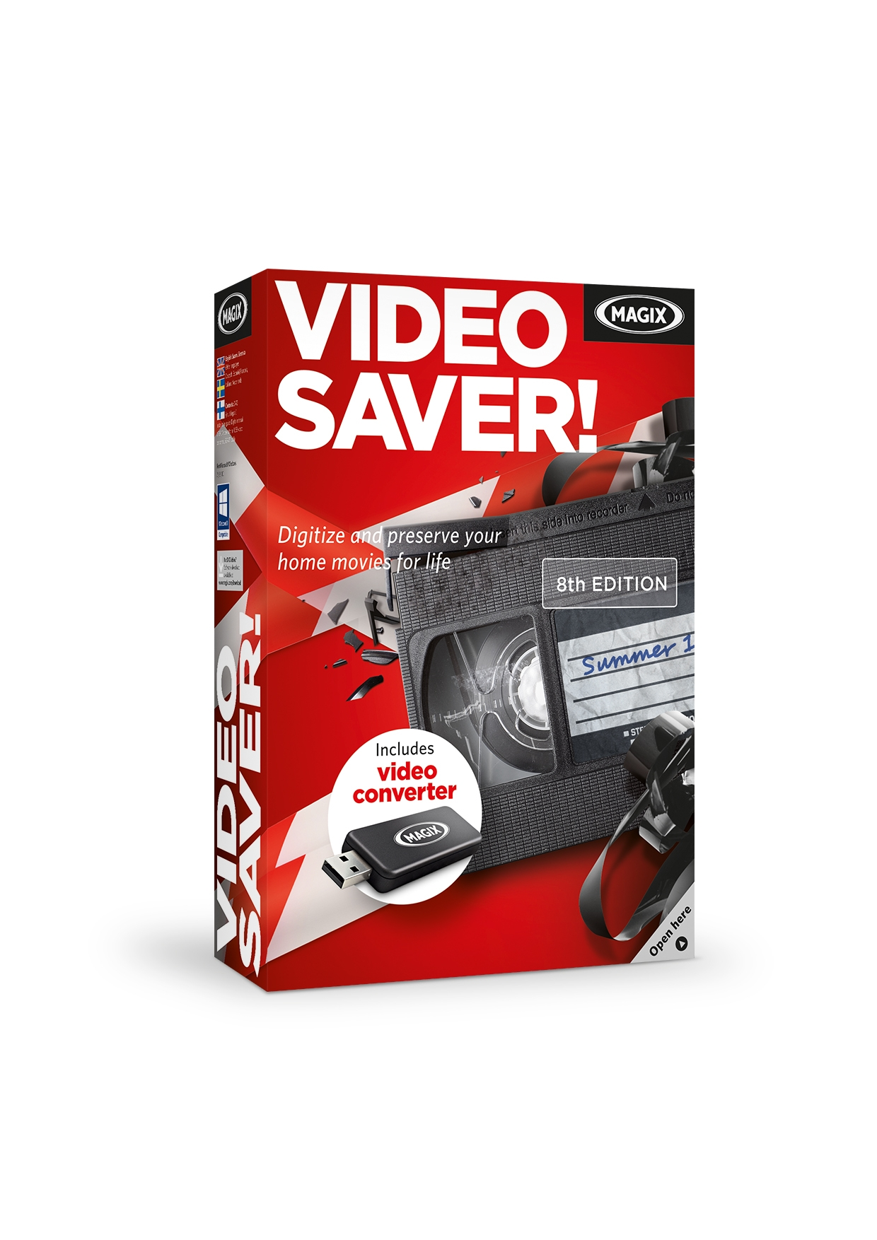 MAGIX VIDEO SAVER 8 SK