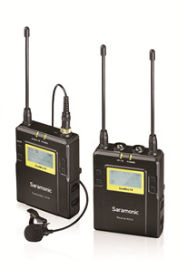 SARAMONIC UHF WIRELESS UwMic9 PACKAGE X1