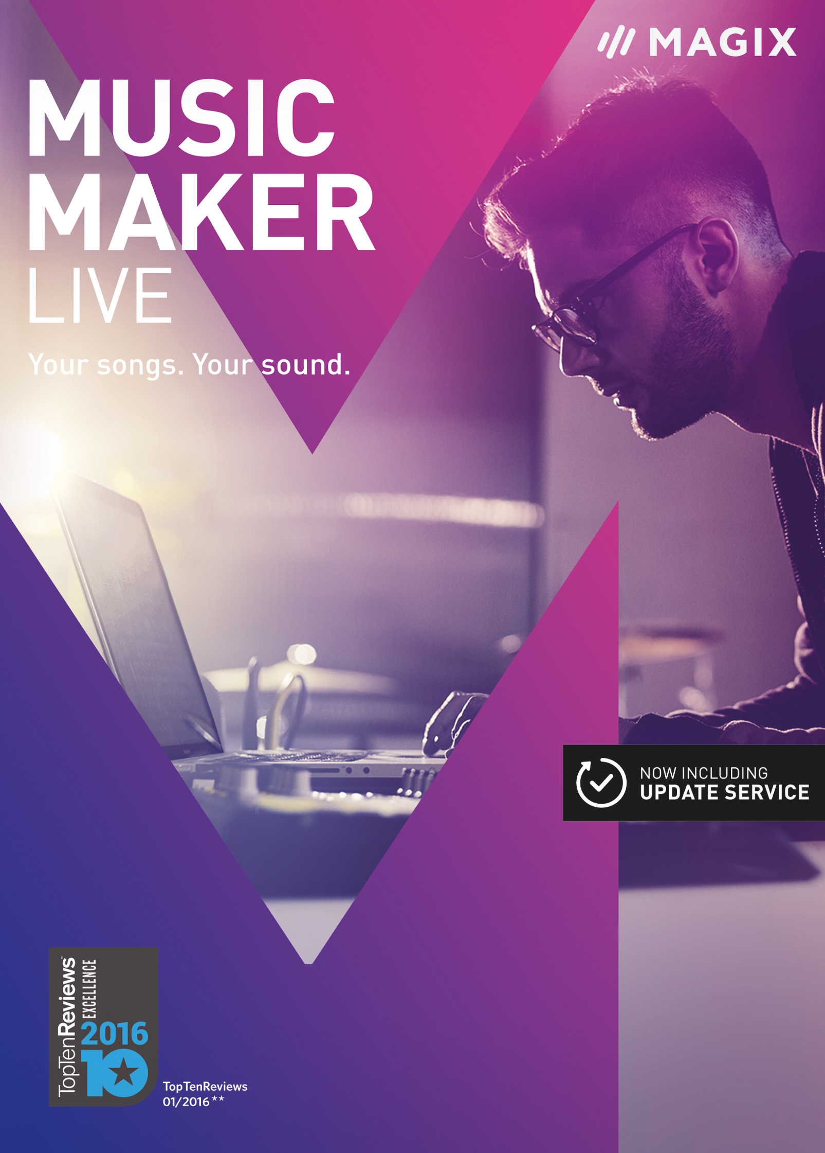 MAGIX MUSIC MAKER LIVE - BOX - EN
