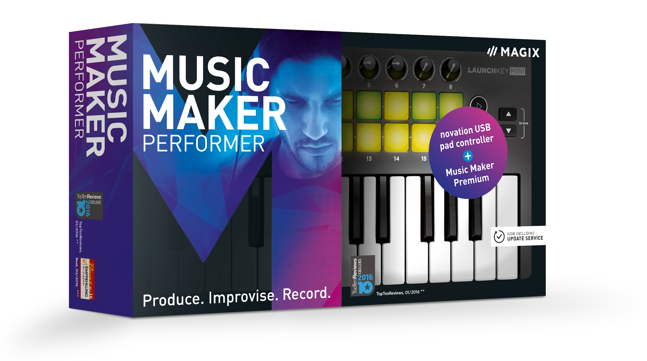 MAGIX MUSIC MAKER PERFORMER - BOX - EN