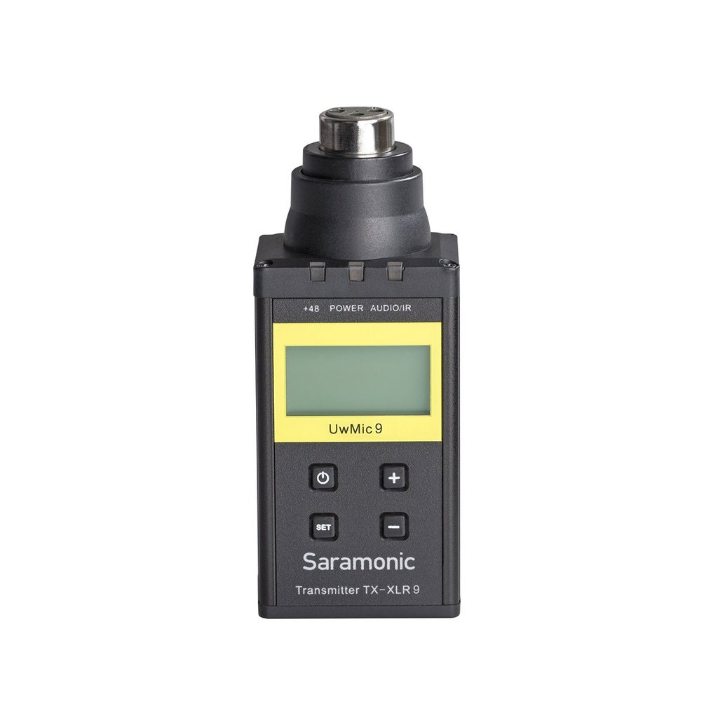 SARAMONIC UHF WIRELESS PLUG ON TX-XLR9
