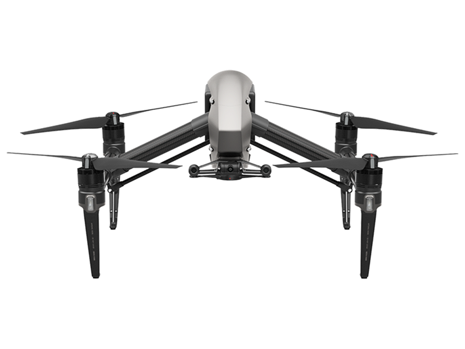 DJI - INSPIRE 2 Inspire 2 (EU) (L)(with license, without gimbal camera)