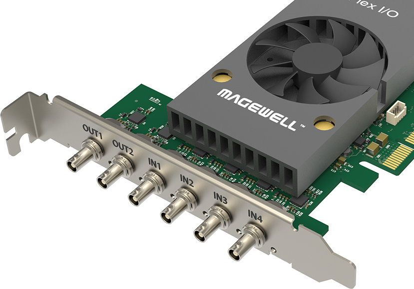MAGEWELL FLEX I/O SDI 4 IN 2 OUT