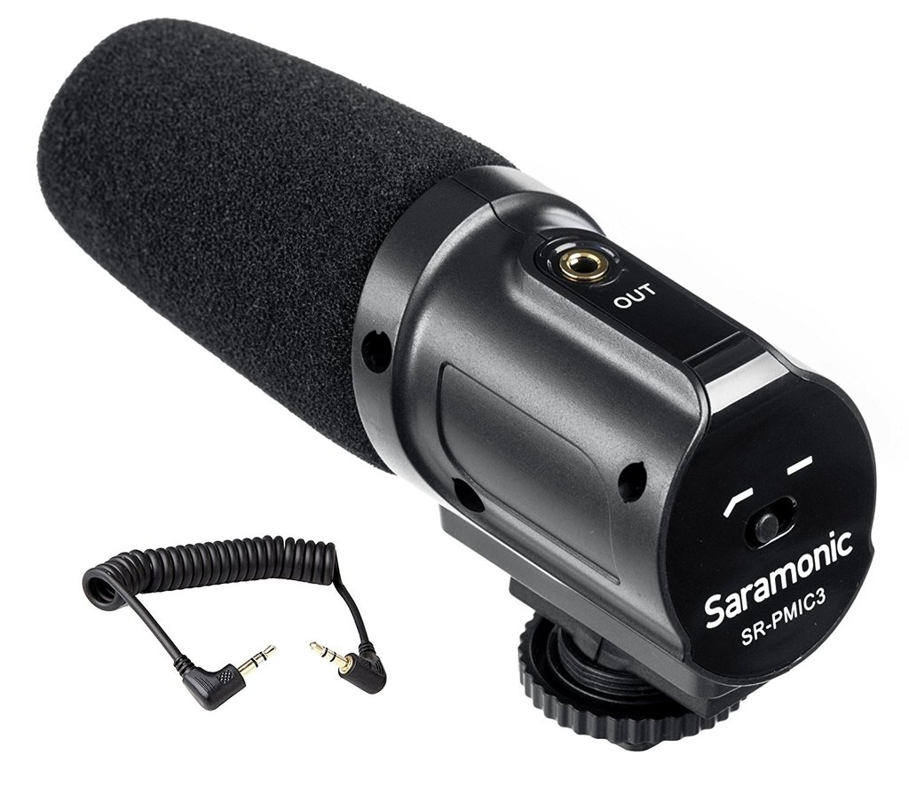 SARAMONIC VIDEO MICROPHONE SR-PMIC3