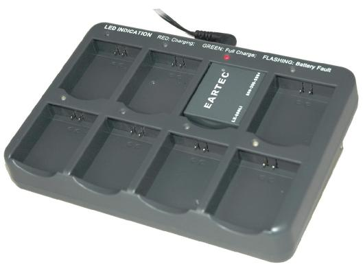 EARTEC ULTRALITE 8 PORT BATTERY CHARGER