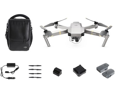 DJI - MAVIC PRO PLATINUM FLY MORE COMBO