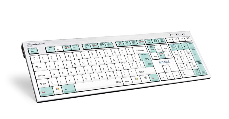 Mitel InAttend Telecom Keyboard - Swedish keyboard