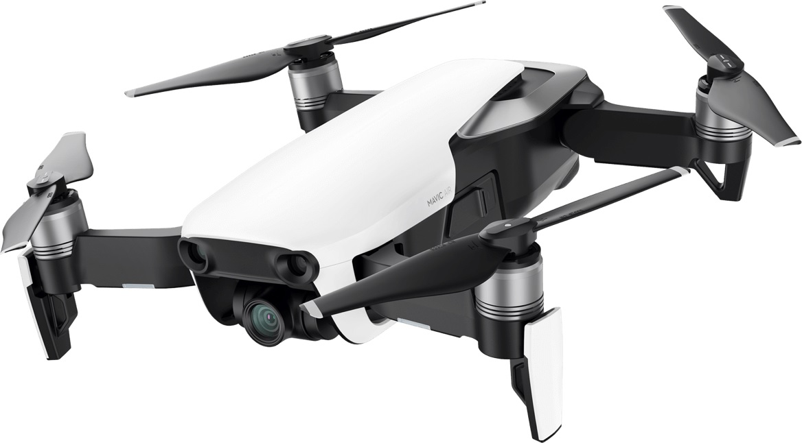 DJI - MAVIC AIR ARCTIC WHITE FLY MORE COMBO