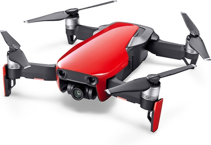 DJI - MAVIC AIR FLAME RED FLY MORE COMBO