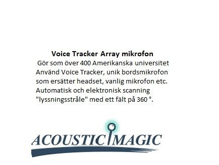 VOICE TRACKER II ARRAY MICROPHONE USB