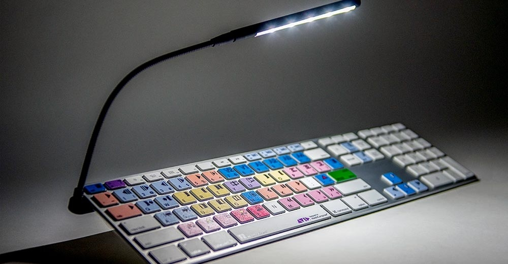 LOGICLIGHT V2 USB LED KEYBOARD LAMP BLACK