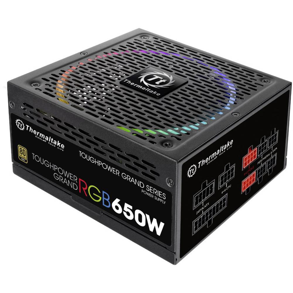 THERMALTAKE TOUGH POWER GRAND ATX RGB 650W  80 PLUS GOLD