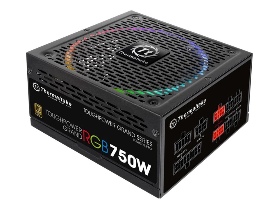 THERMALTAKE TOUGH POWER GRAND ATX RGB 750W  80 PLUS GOLD