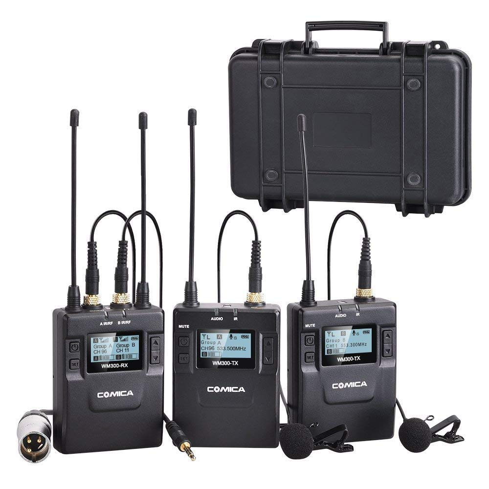 COMICA WIRELESS MICROPHONE KIT WM300A