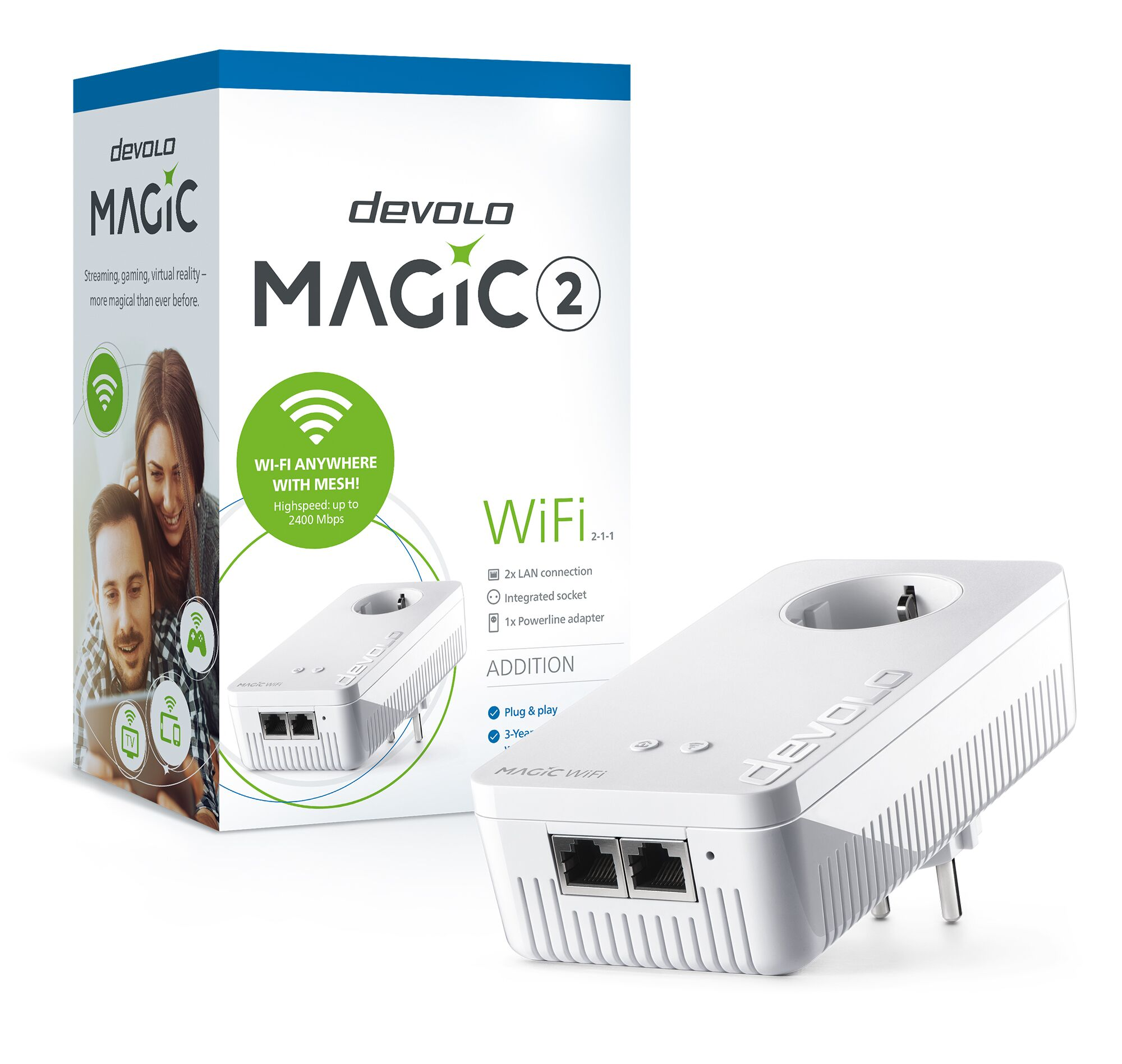DEVOLO MAGIC 2 WIFI SINGLE ADAPTER