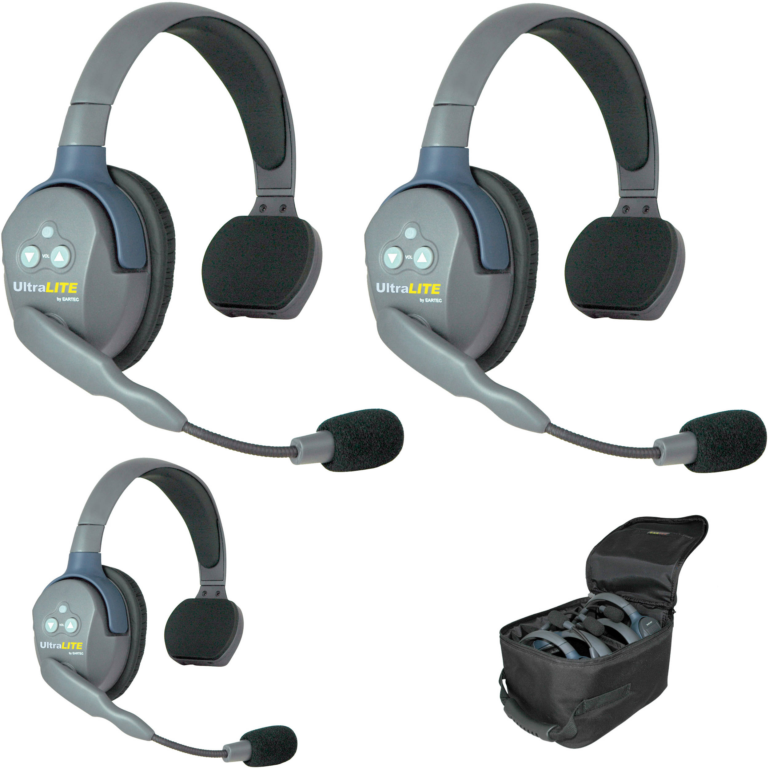 EARTEC ULTRALITE 3 SINGLE HEADSET HD