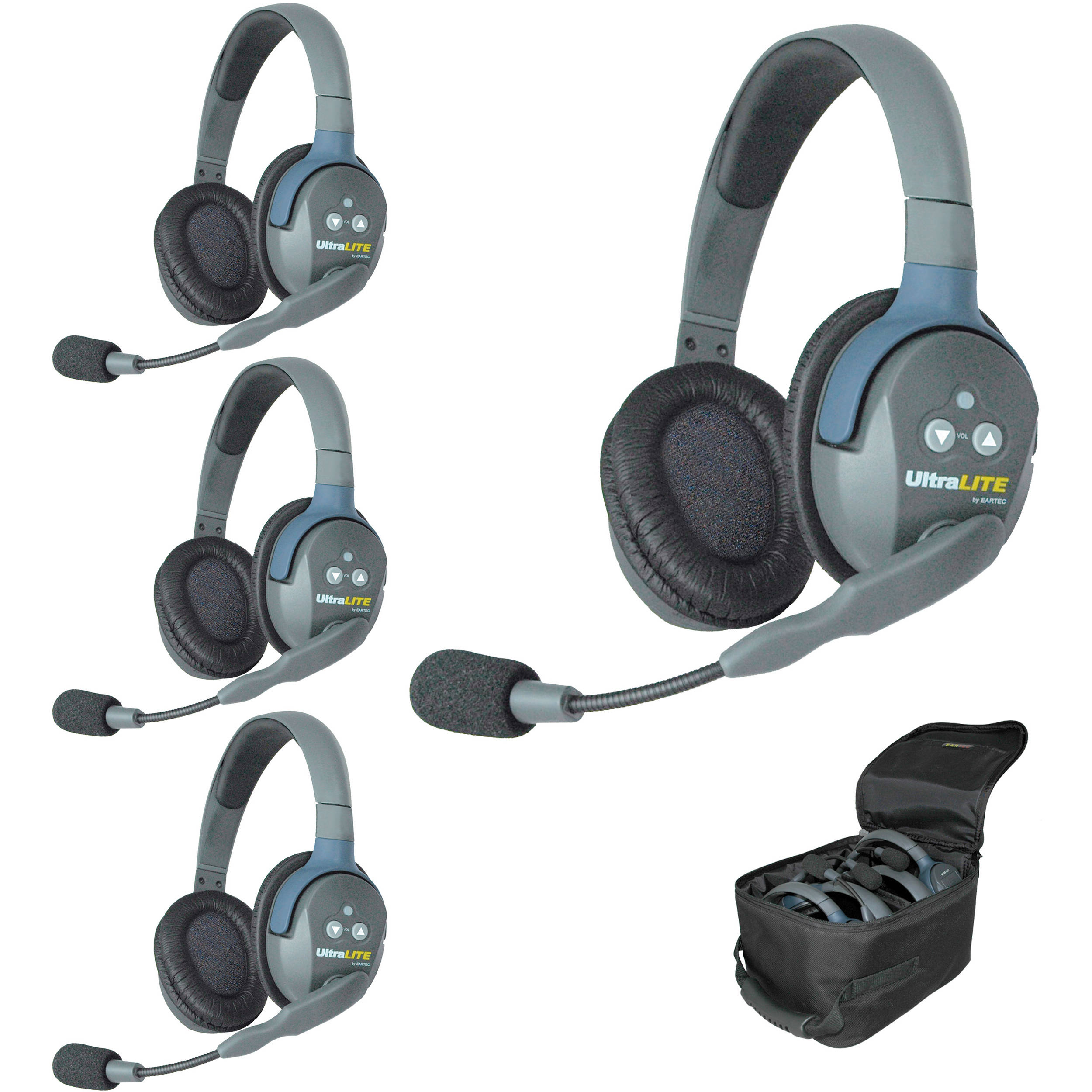 EARTEC ULTRALITE 4 DOUBLE EAR HEADSET HD