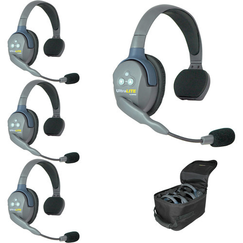 EARTEC ULTRALITE 4 SINGLE EAR HEADSET HD