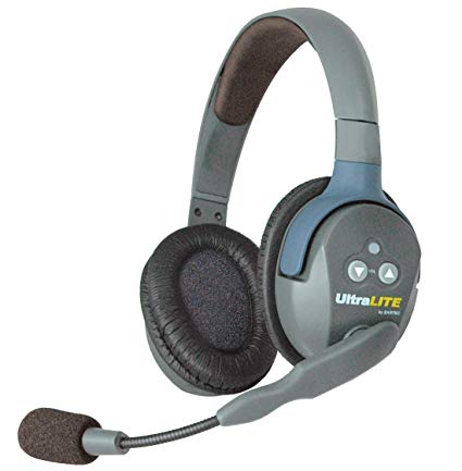 EARTEC ULTRALITE DOUBLE HEADSET REMOTE X