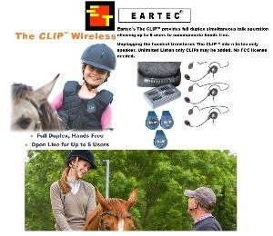 EARTEC CLIP 3 PERSON SYSTEM W/CYBER HEADSET