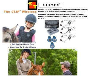 EARTEC CLIP 2 PERSON SYSTEM W/CYBER HEADSET