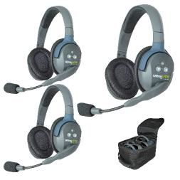 EARTEC ULTRALITE 3 DOUBLE HEADSET HD